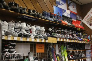 wb ski boots new & history